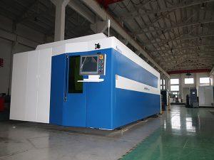 10-20mm άνθρακα χάλυβα ίνα λέιζερ κοπής μηχανή