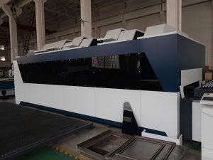 1000w ανοξείδωτο χάλυβα άνθρακα χάλυβα σιδήρου cnc λαμαρίνα με ίνες λέιζερ κοπής μηχανή