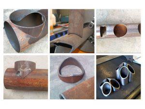 CNC πλάσμα στρογγυλό σωλήνα κοπής έργα