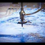 3d 5-άξονα cnc εκτοξευτήρα ύδατος cnc μηχάνημα-ψεκασμό νερού από ανοξείδωτο χάλυβα-waterjet υψηλής πίεσης