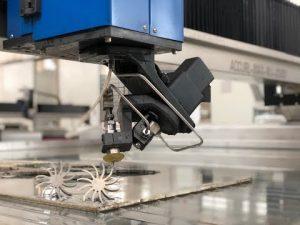 Μηχανή κοπής 3D Waterjet με 5 άξονες εκτόξευσης νερού CNC κοπής Τιμή προς πώληση