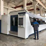 500w 700w 1kw, 2kw, 3kw, μεταλλικό φύλλο cnc οπτικών ινών λέιζερ κοπής μηχανής