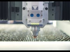 700W nLight μηχάνημα κοπής λέιζερ ινών για λέιζερ κοπής φύλλο χαλκού 2 mm