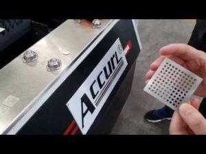 accurl 700w ipg ινών λέιζερ κοπής μηχανή για μεταλλικό φύλλο CNC λέιζερ κοπής