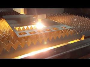ACCURL Κοπτικό λέιζερ οπτικών ινών 12mm με μηχανή κοπής λαμαρίνας IPG 2kw