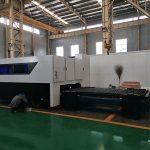 cnc 500w χαράκτης πολυλειτουργικό φύλλο και σωλήνα μεταλλικές ίνες μηχανή κοπής λέιζερ
