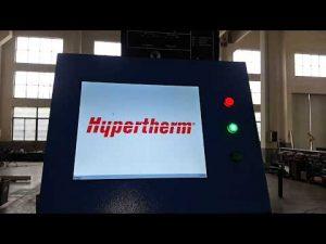 CNC κοπής πλάσματος και μηχανή κοπής φλόγας OXY με πλάσμα Hypertherm HyPerformance HPR400XD