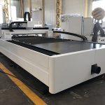 500W μηχάνημα κοπής λέιζερ ινών με μέταλλο