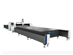 μεταλλική πλάκα 4kw λέιζερ κοπής λέιζερ με τραπέζι εργασίας 2000x6000mm