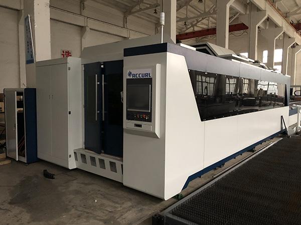 Jinan spc αυτόματη μηχανή κοπής αλουμινίου 3mm με λέιζερ