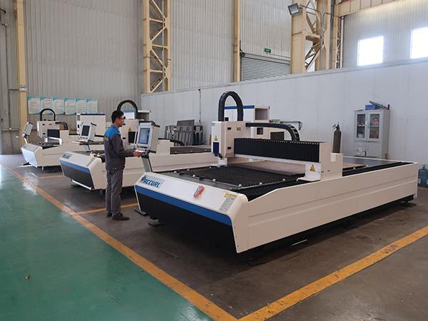 SGS Certification 300W 500W 750W 1000W 2000W 3000W 8000W metal fiber laser cutting machines factory