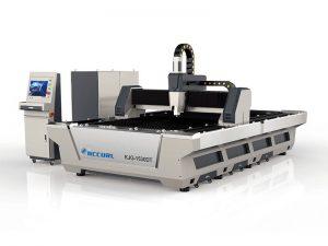 μεταλλική ίνα 500w 1000watt 3kw λέιζερ κοπής μηχανή για ανοξείδωτο χάλυβα αλουμινίου