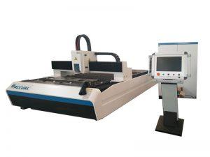 300w 500w 750w ανθρακούχο χάλυβα / ανοξείδωτο μεταλλικό φύλλο CNC λέιζερ κοπής λέιζερ για την πώληση