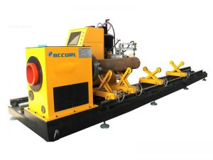 cnc πλάσματος για την κοπή τετραγωνικών σωληνώσεων από 40x40mm σε 100x100mm / tube cutter