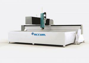 Υψηλής ταχύτητας 3 άξονα γρανίτη ψεκασμό νερού κοπής cnc μηχανή ελεγχόμενη 4000 x 2000mm