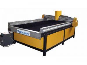 χαμηλού κόστους χάλυβα / ανοξείδωτο χάλυβα cnc πλάσματος μέταλλο κοπής μηχανή / cnc μεταλλικό πλάσμα κοπής