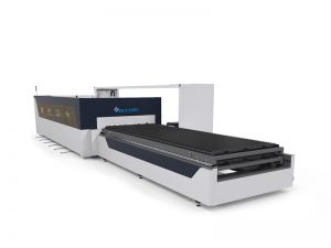 computerized metal pipe laser cutting machine 1000w