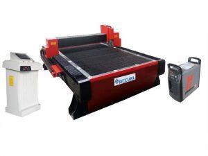 ανοξείδωτο χάλυβα cnc σωλήνα πλάσμα μηχάνημα κοπής που χρησιμοποιείται για τη βιομηχανία χάλυβα δοκών