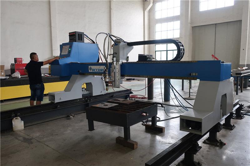 επαγγελματίας κατασκευαστής cnc πλάσμα / φλόγα μηχανή κοπής στην Κίνα