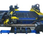 Κίνα cnc plamsa ανοξείδωτο χάλυβα κοπής σωλήνα μηχάνημα