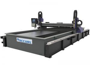 μίνι cnc λέιζερ μέταλλο κοπής μηχανή / μαλακό χάλυβα πλάκα cnc πλάσματος μηχάνημα κοπής