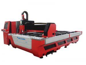 1kw, 2kw, 3kw, 4kw μεταλλικό φύλλο cnc λεωφορείο τραπέζι εργασίας οπτική ίνα λέιζερ κοπής τιμή μηχανής